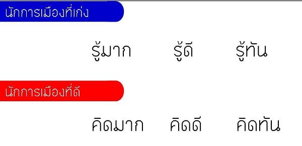 นักการเมืองไทย