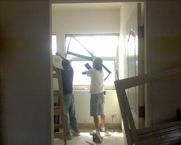書房門窗拆除