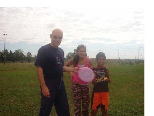 frisbee en Ñu Guazú